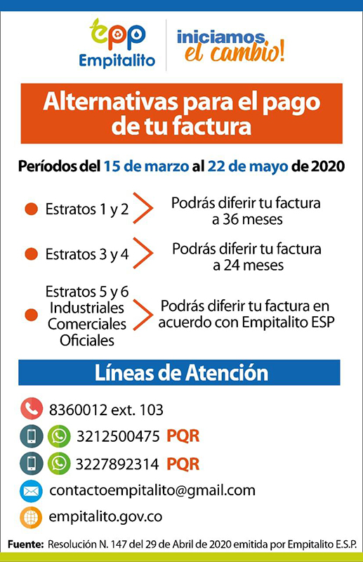 alternativas de pago